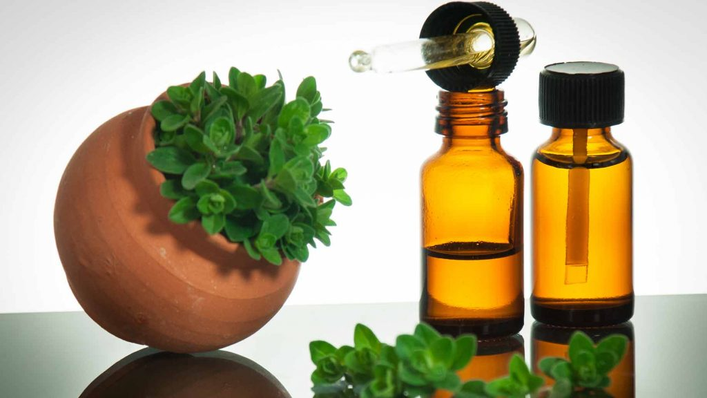 Oregano essential oil to remove anal skin tags