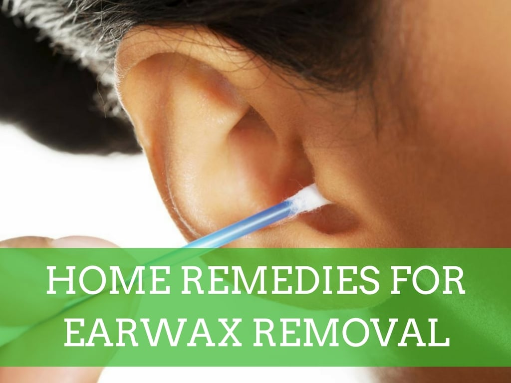 Home Remedies for Earwax Removal