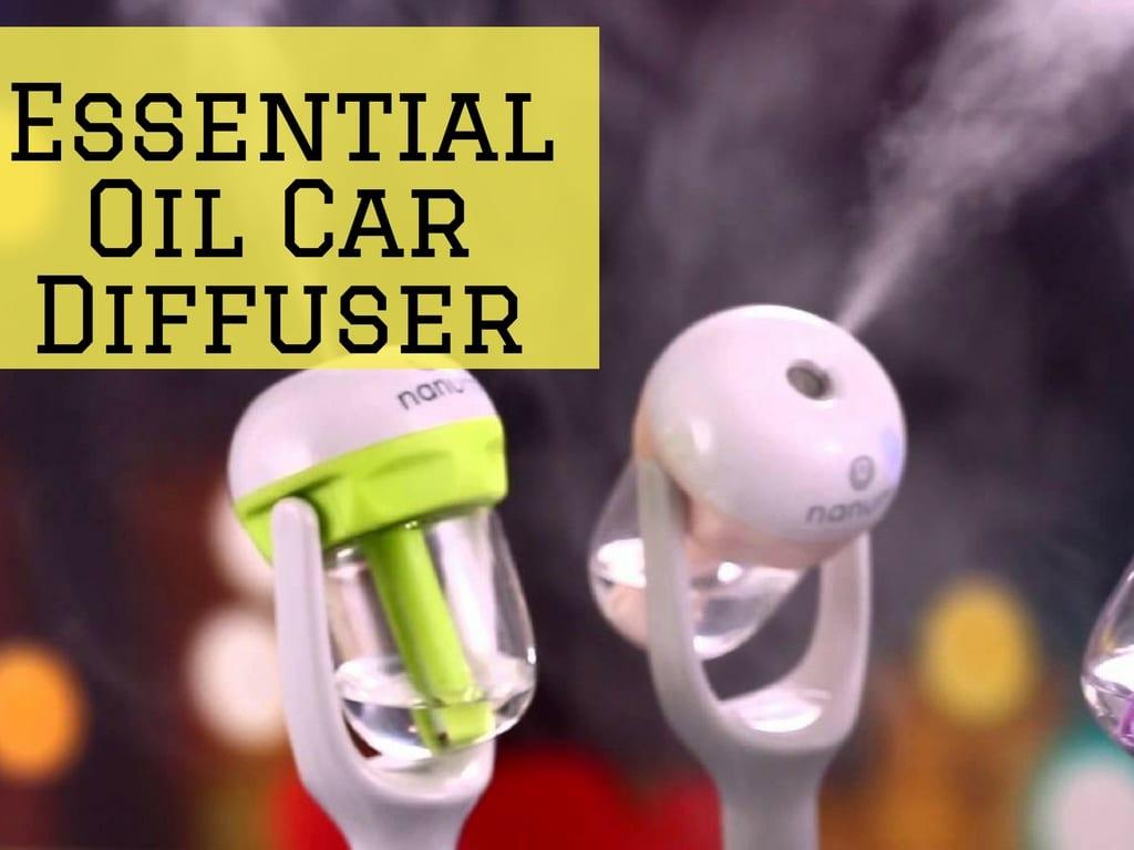 Essential Oil Car Diffuser