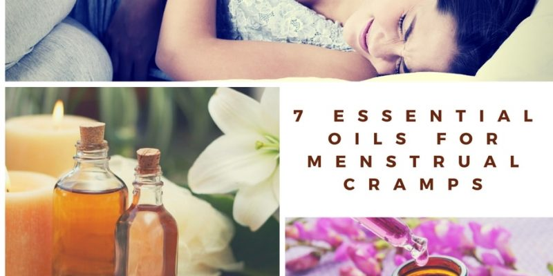 7 Essential oils for menstrual cramps and PMS that will help you ease your monthly trials