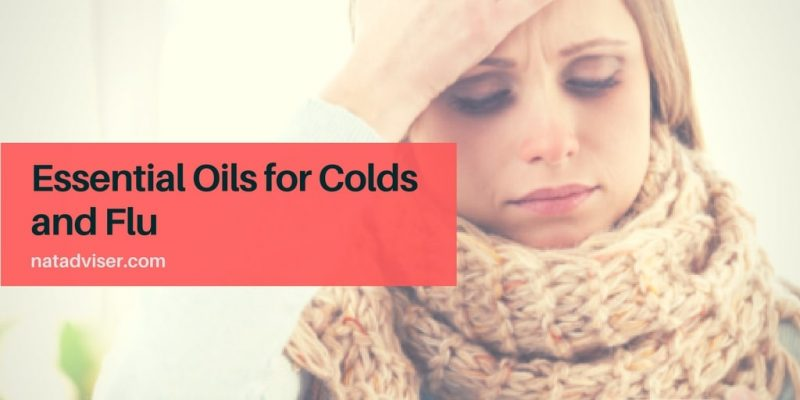 Essential Oils for Colds and Flu: Treatment, Prevention, and Symptomatic Relief